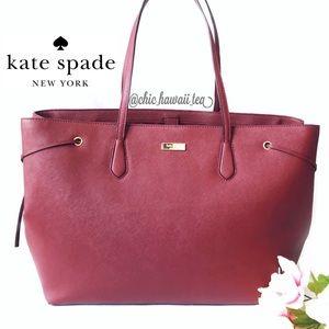 Kate Spade Ari Laurel Way Leather Tote